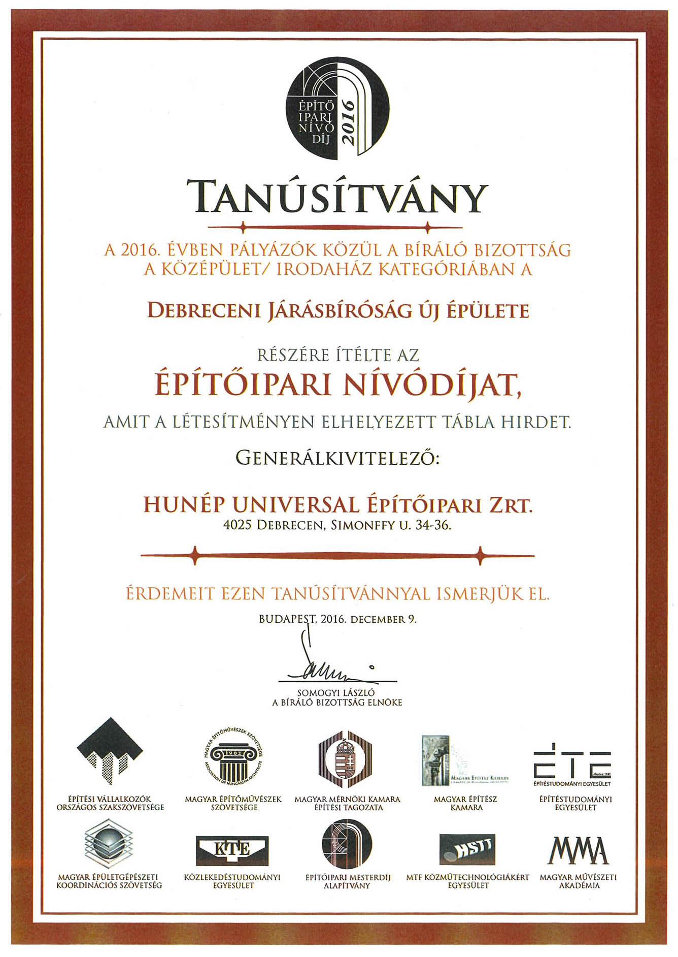 Debreceni Járásbíróság